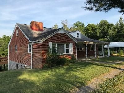 Buena Vista Single Family Home For Sale: 712 Stuartsburg Rd