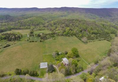Lexington Single Family Home For Sale: 2588 Big Hill Rd #214 acre