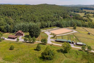 Fairfield Single Family Home For Sale: 1455 Brownsburg Tpke