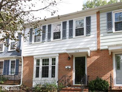 Crofton Townhouse For Sale: 1615 Dryden Way