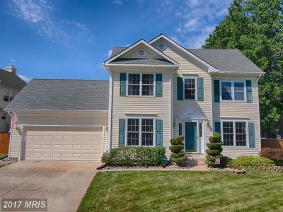 Gambrills Single Family Home For Sale: 2465 Symphony Lane