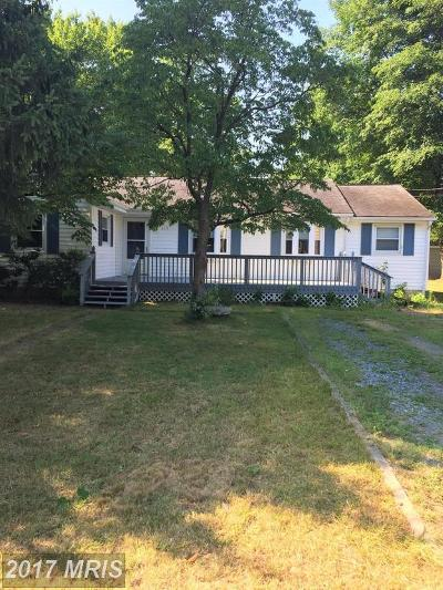 Glen Burnie Single Family Home For Sale: 615 Opel Road