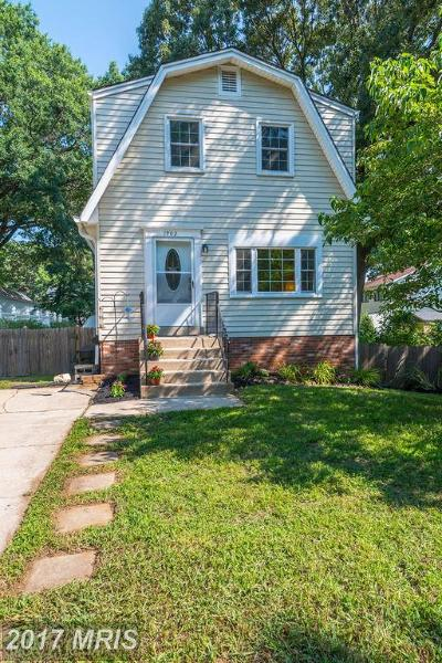 Edgewater Single Family Home For Sale: 1902 Potomac Road