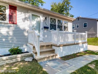 Anne Arundel Single Family Home For Sale: 441 Yellow Springs S