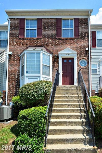 Crofton Townhouse For Sale: 2087 Pawlet Drive