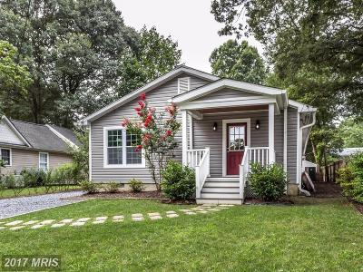 Severna Park Single Family Home For Sale: 307 Smith Avenue