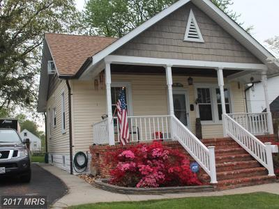Linthicum Single Family Home For Sale: 34 Patapsco Road