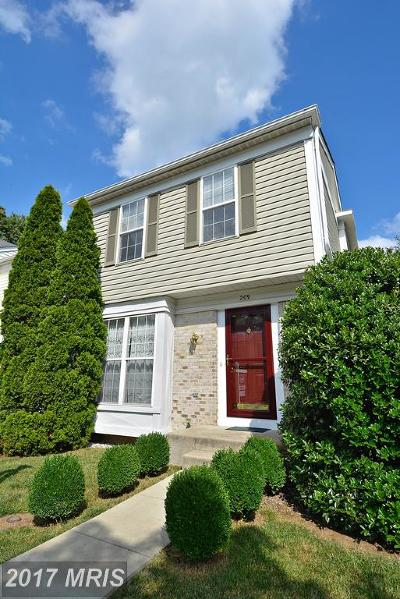 Odenton Townhouse For Sale: 209 Edge Creek Lane