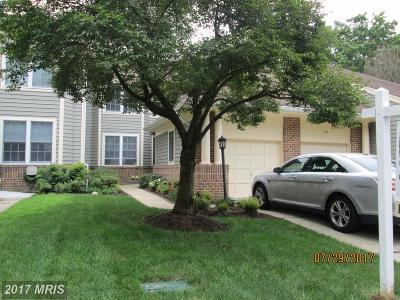 Annapolis Townhouse For Sale: 126 Spring Place Way