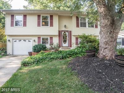 Gambrills Single Family Home For Sale: 987 Summer Hill Drive
