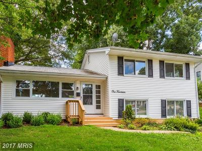 Annapolis Single Family Home For Sale: 114 Simms Drive