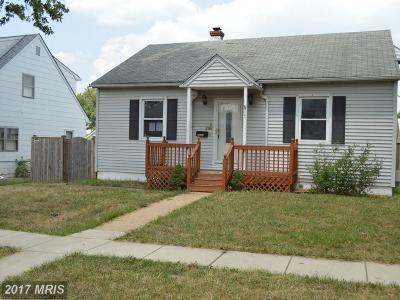 Anne Arundel Single Family Home For Sale: 104 8th Avenue