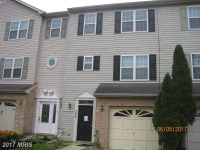 Annapolis Townhouse For Sale: 105 Brightwater Drive
