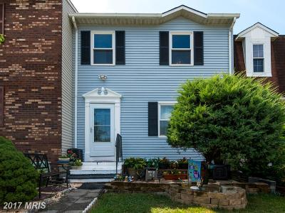 Anne Arundel Townhouse For Sale: 7712 Moonfall Court