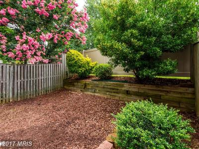 Annapolis Townhouse For Sale: 615 Baystone Court