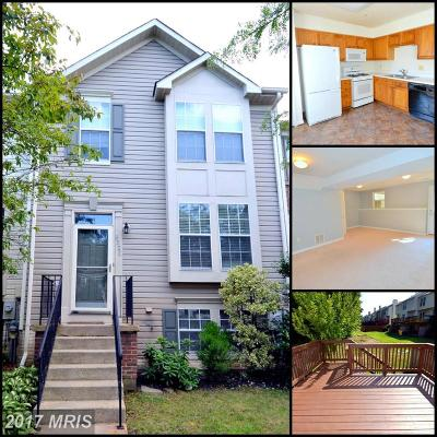 Odenton Townhouse For Sale: 8520 Pine Meadows Drive