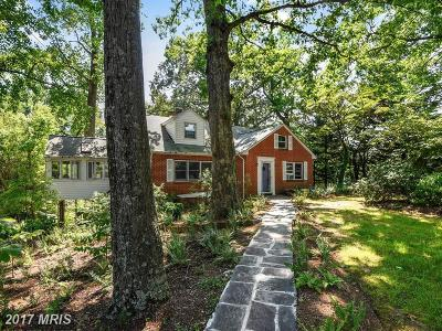 Annapolis Single Family Home For Sale: 801 Springdale Avenue