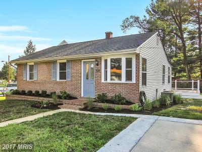 Annapolis Single Family Home For Sale: 16 Cypress Road