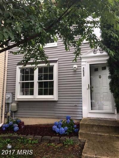 Anne Arundel Rental For Rent: 3623 Dorshire Court