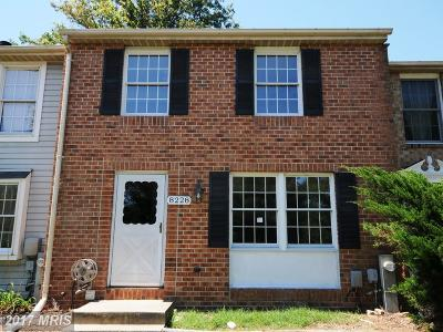 Pasadena Townhouse For Sale: 8228 Shady Nook Court