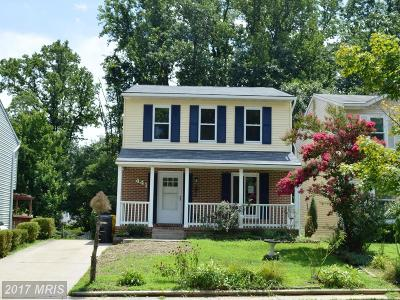 Anne Arundel Single Family Home For Sale: 441 Broadwater Road