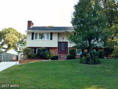 Severna Park Single Family Home For Sale: 303 Crandell Road