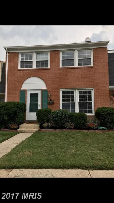 Crofton Townhouse For Sale: 1728 Gunwood Place