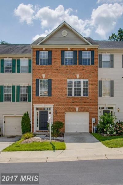 Odenton Townhouse For Sale: 834 Patuxent Run Circle
