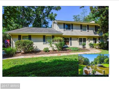Annapolis Single Family Home For Sale: 2104 Bay Front Terrace