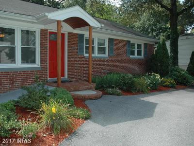 Severna Park Single Family Home For Sale: 613 Center Drive