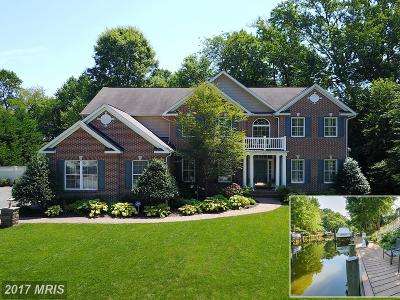 Annapolis Single Family Home For Sale: 607 Canal Lane