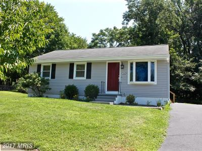 Annapolis Single Family Home For Sale: 130 Roselawn Road