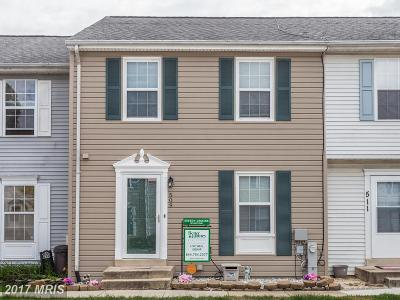 Odenton Townhouse For Sale: 509 Realm Court E
