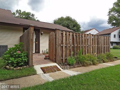 Crofton Single Family Home For Sale: 1915 Topanga Place
