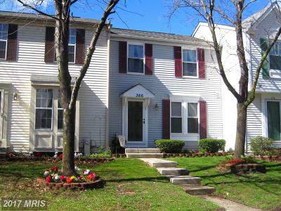 Pasadena Townhouse For Sale: 366 Hickory Nut Court