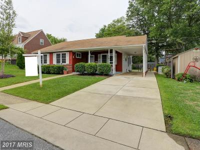 Linthicum Single Family Home For Sale: 700 Wooddale Road