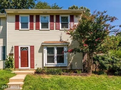Annapolis Townhouse For Sale: 342 Charred Oak Court