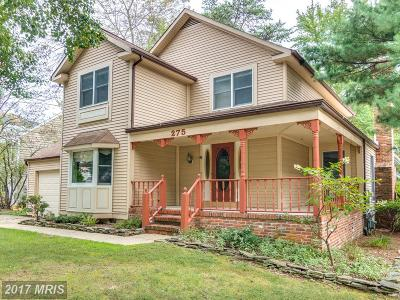 Severna Park Single Family Home For Sale: 275 Whistling Pine Road