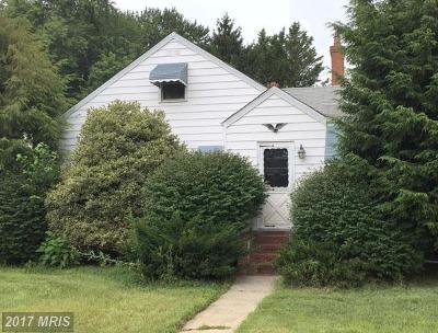 Annapolis Single Family Home For Sale: 1100 Bay Ridge Avenue