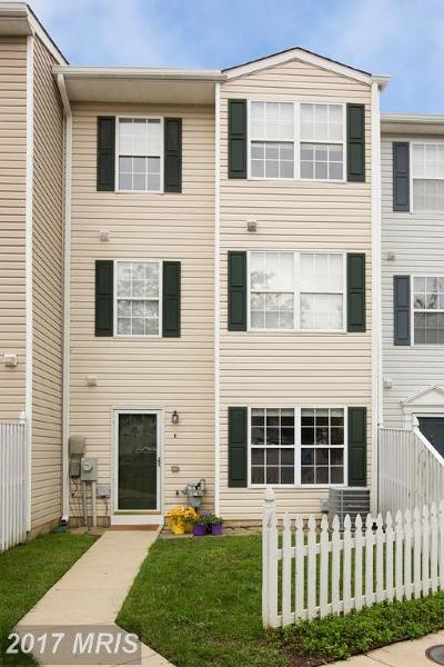 Annapolis Townhouse For Sale: 20 Ironstone Court
