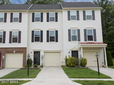 Glen Burnie Townhouse For Sale: 7708 Timbercross Lane