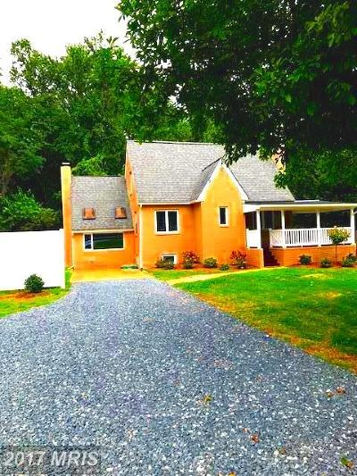 Annapolis Single Family Home For Sale: 1784 Generals Highway