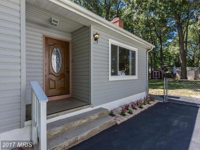 Churchton Single Family Home For Sale: 1214 Ellicott Avenue