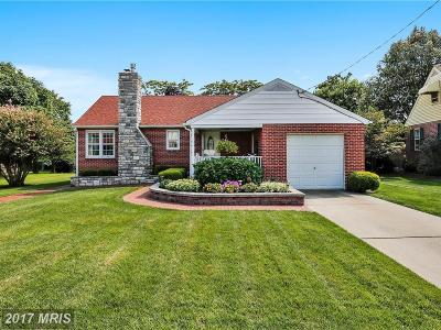Linthicum Single Family Home For Sale: 919 Lynvue Road