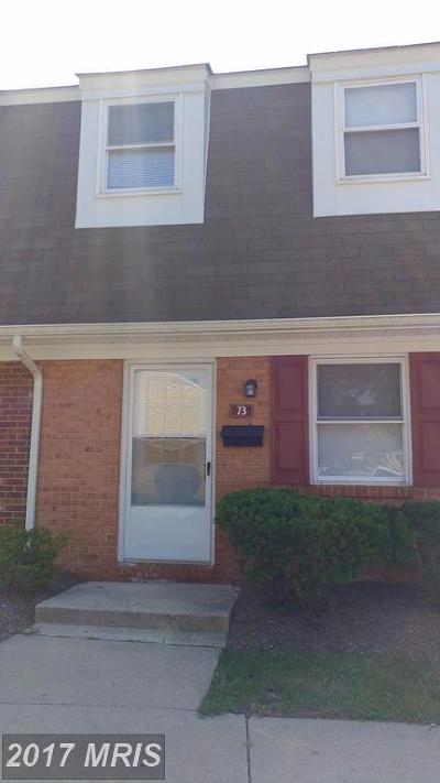 Annapolis MD Rental For Rent: $1,425
