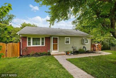 Glen Burnie Single Family Home For Sale: 204 Broadway Avenue