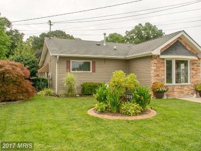 Glen Burnie Single Family Home For Sale: 209 Carroll Road