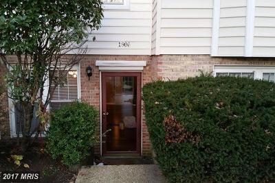 Crofton Rental For Rent: 1606 Bancroft Lane #1606