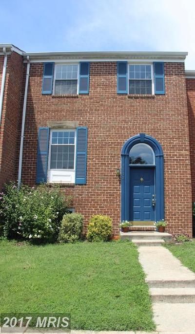 Crofton Townhouse For Sale: 1112 Moderno Court