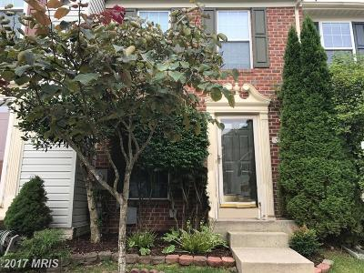 Laurel Townhouse For Sale: 3203 Water Lily Court